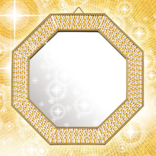 水晶院さんの財運風水鏡