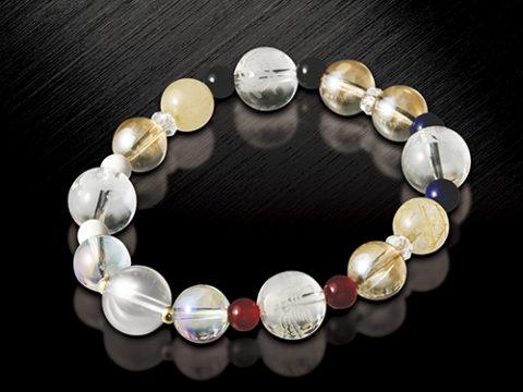 チラシや新聞広告に載っている九星四神ブレスは水晶院ラッキーショップから発売されています