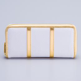 えんぎ屋水晶院ラッキーショップの本革白蛇財布です。チラシや雑誌に載ってる白蛇財布です。