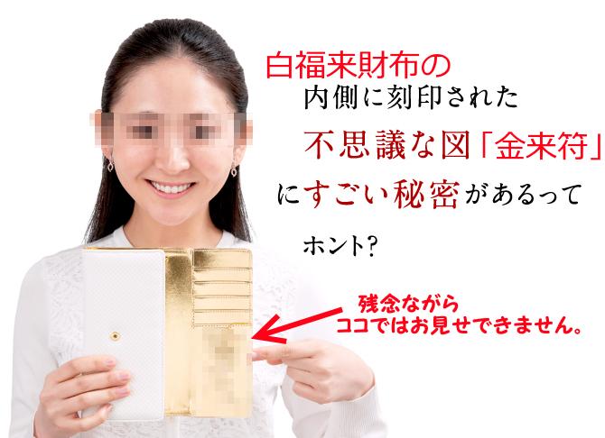 白いフクロウ財布の秘密