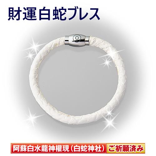 【金運の白蛇】スタイリッシュな財運白蛇ブレス&財運白蛇二重ブレス