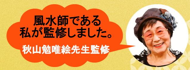 秋山先生監修のラッキーアイテム