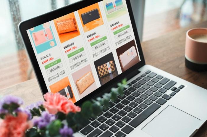 水晶院の金運財布をパソコンでインターネット検索