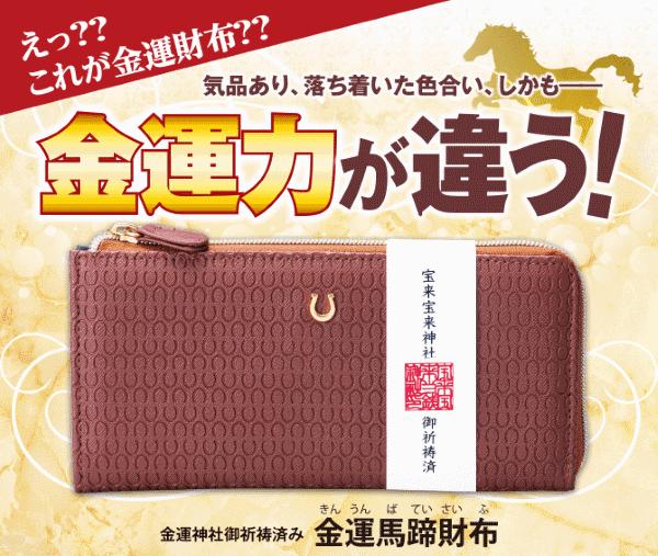 キャンペーン中の水晶院財布
