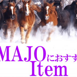 UMAJOにおすすめのアイテム